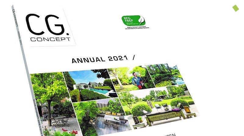 cg concept annual 2020 jaarboek Belgische groensector